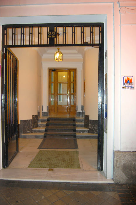 Main entrance to the International TEFL Academy